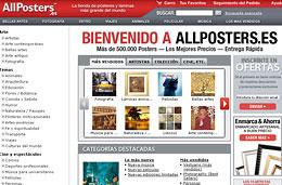 All Posters - 3 Códigos promocionales de 3€, 10€ y 20€ de descuento para compras superiores a 15€, 40€ y 65€ respectivamente, válido hasta 23-Febrero-2009
