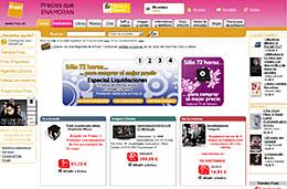 Fnac - 72 horas de oportunidades en el Especial Liquidaciones, gastos de envío gratis en libros y 20% de descuento adicional en Música y Cine, válido hasta 25-Febrero-2009