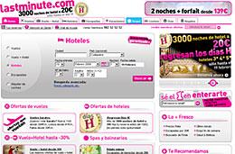 LastMinute - 3000 noches de hotel desde 20€ en hoteles de 3*, 4* y 5*, válido hasta 19-Febrero-2009