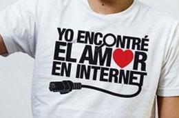 ShirtCity - 5€ de descuento en la camiseta de la semana \'Yo encontré el amor en internet\', válido hasta 8-Febrero-2009