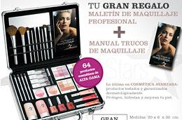 Venca - Maletín de maquillaje profesional y manual de trucos de maquillaje gratis con cualquier pedido pagando únicamente los gastos de envío