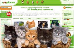 Zooplus - Código promocional 10% de descuento en todos los productos, válido hasta 10-Julio-2009