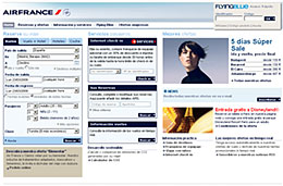 Ofertas de vuelos economicos en los días Super Sale de Air France