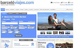 Barceló Viajes - Ofertas de viajes con descuentos del 6% reservando con 3 meses de antelación y del 11% pagando con la tarjeta Visa Barceló
