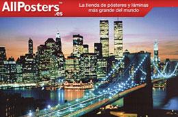 Código promocional All Posters de 3€, 10€ ó 20€ de descuento para compras superiores a 15€, 40€ y 65€, válido hasta 14-Marzo-2009