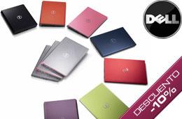 Código promocional Dell del 10% de descuento en todos los ordenadores portátiles y sobremesa Studio, Inpiron y XPS en compras superiores a 899€ para particulares, válido hasta 25-Marzo-2009