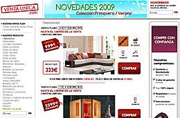 Código promocional Venta-Única de 40€ de descuento y 4 ofertas de sofás de piel en las ventas flash de esta semana