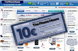 Cupon descuento de 10€ en The Phone House para nuevas altas de contrato o portabilidad de cualquier operador de telefonía móvil
