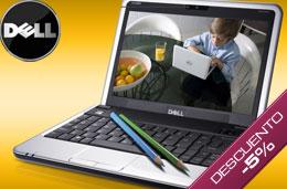 Código promocional Dell del 5% de descuento en todos los ordenadores portátiles y sobremesa Studio, Inpiron y XPS en compras superiores a 499€ para particulares
