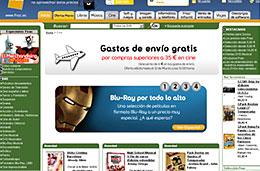 Fnac - Gastos de envío gratis en la sección de cine y películas para compras superiores a 35€
