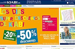 Ofertas Kiabi en ropa descuentos del 20% y 50% en los \'Días super descuentos\'