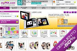 Revelado de fotos digital en oferta con descuentos de hasta el 50% en MyPix