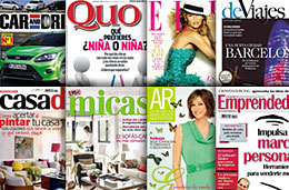 Zinio - 8 revistas a las que suscribirse en oferta durante este fin de semana con descuentos de hasta el 68%, válido hasta 29-Marzo-2009