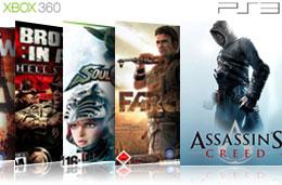 Ofertas en videojuegos para PS3 y Xbox 360 con descuentos de hasta el 71% y precios desde los 19,95€ en la tienda de videojuegos de Fnac