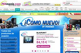 Pixmania - Más ofertas y precios con descuento en su nueva sección \'¡Como Nuevo!\' con productos de ocasión