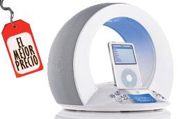 El mejor precio para los altavoces JBL On Time para iPod y con radio despertador con un 54% de descuento y 163€ de ahorro