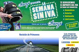 'La Semana sin IVA' en Aurgi con descuentos del 16% en todos los productos para nuestro coche y en la mano de obra