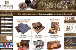 Codigo promocional de un 8% de descuento adicional en todos los productos de Chocolate TradingCo, válido hasta 30-Noviembre-2009