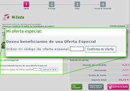 Código promocional de oferta La Redoute