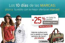 Código de oferta especial La Redoute de un 25% de descuento en todo y una bolsa Oxbow de regalo