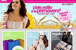 Codigo descuento Venca para obtener 10€ de descuento para compras superiores a 30€, rebajas del 70% en el outlet Primavera-Verano y maletín de maquillaje de regalo