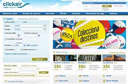Ofertas de vuelos con 1.000.000 de plazas disponibles y más de 80 ideas para viajar desde 30€ en ClickAir