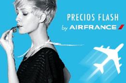Ofertas de vuelos baratos con Air France en su promoción de 'Precios Flash' durante 5 días
