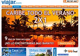 oferta viajes 2x1 vacaciones verano en viajar.com