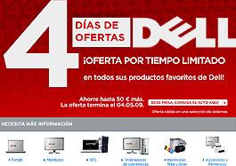 Ofertas Dell por tiempo limitado con descuentos de hasta 200€ en una selección de productos XPS en los '4 días de ofertas Dell'