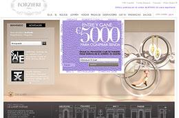 Codigos descuento Forzieri para tener 10€ de descuento o para gastos de envío urgente gratis, ambos para compras superiores a 100€