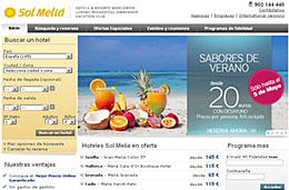Ofertas de hoteles en la promoción 'Sabores de Verano' de Sol Meliá con precios desde 20€ con desayuno incluído