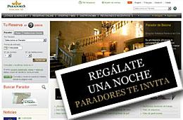 Ofertas Paradores de España con la promoción Regalate una noche