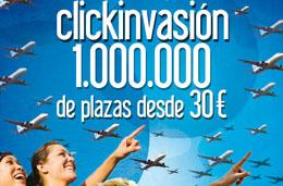Ofertas de vuelos clickair desde 30 euros