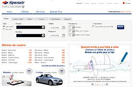 Billetes de avión para niños gratis en las reservas de vuelos con Spanair para volar a Alemania o Escandinavia