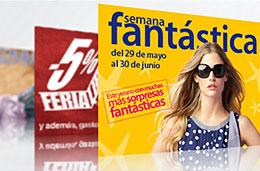 Semana Fantástica en El Corte Inglés con una gran selección de ofertas durante todo el mes de Junio, válido hasta 30-Junio-2009