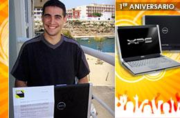 Ya tenemos ganador de nuestro sorteo del portátil Dell XPS M1530 con motivo del 1er Aniversario de PromoCódigos.com