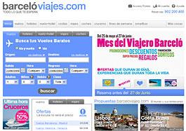 Grandes ofertas para estas vacaciones en el Mes del Viajero Barceló, válido hasta 27-junio-2009
