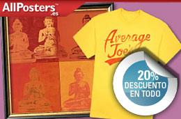 Nuevos codigos promocionales y codigos descuento para la tienda de posters AllPosters