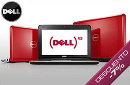 Código promocional Dell de un 7% de descuento en la compra de ordenadores portátiles y sobremesa Studio, Inpiron y XPS superiores a 599€ para particulares