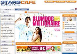 Código descuento Starscafe de 4€ de descuento para pedidos superiores a 30€ en esta tienda especializada en la venta de películas, válido hasta 30-Septiembre-2009