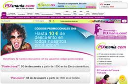 Nuevos códigos promocionales Pixmania para esta semana con descuentos de hasta 15€ aplicables a todos sus productos, válido hasta 6-Julio-2009