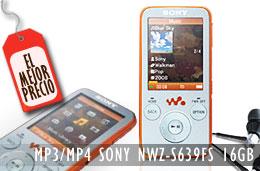 Mejor precio reproductor MP4 Sony NWZ-S639FR de 16 GB