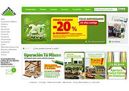 20 Aniversario de Leroy Merlin con un 20% de descuento en todos sus productos el viernes 26-Junio-2009