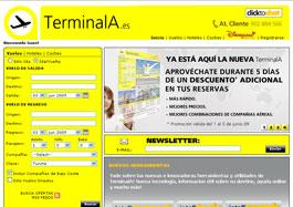 Vuelos baratos con 10 euros de descuento en TerminalA.com