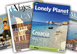 Ofertas en Zinio con descuentos de hasta el 65% en una selección de revistas de viajes en formato digital