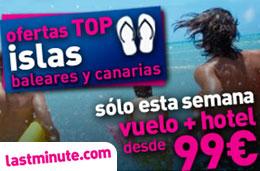 Especial de ofertas de viajes (vuelo + hotel) a Baleares, Canarias, Croacia, Cerdeña y Marrakech durante esta semana en LastMinute