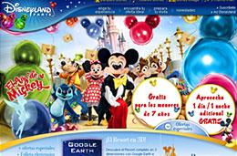 Ofertas en Disneyland Paris con estancia gratuita para niños menores de 7 años y 1 día/noche gratis en estancias de 4 días/3 noches, válido hasta 8-Noviembre-2009