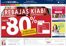 Increíbles rebajas de moda con descuentos de hasta el 80% en Kiabi
