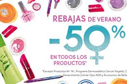 Rebajas Yves Rocher este Verano con descuentos de hasta el 50% en sus artículos de belleza, higiene, corporales, perfumes, ..., válido hasta 26-julio-2009