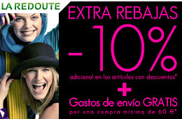 Codigo promocional La Redoute y codigos descuentos para la tienda LaRedoute.es